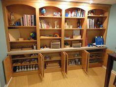 Discovery Days and Montessori Moments: Montessori Monday~ School Room Makeover!