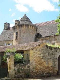 Manoir de Craminat in Sergeac, an ancient Knights Templar Commanderie