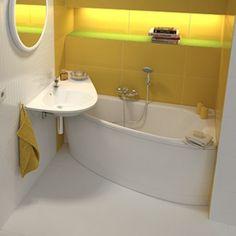 62+ Nejvíce Sbírka z Koupelna 3M2 Compact Bathroom, Loft Bathroom, Bathroom Flooring, Bathroom Interior, Corner Toilet, Corner Bath, Classic Style Bathrooms, Classic Bathroom, Bathroom Design Small