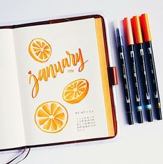 "2,973 Synes godt om, 52 kommentarer – Marcela Purnomo Calligraphy (@marcsmellows) på Instagram: ""Because it's right in the middle of summer here down under, my January theme is something a little…"""