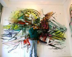 Hopare #street #art #collage