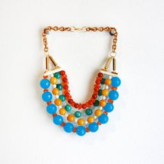 Percy Necklace, $96, now featured on Fab.