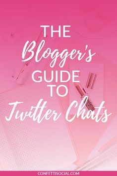 Twitter chats are a great way to build community and grow your blog/biz. Click through and find out some of the best Twitter chats for bloggers.