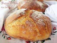 Another pinner wrote: This german potato bread recipe is one of the best recipes for homemade bread I ever tried. Wrap Recipes, Baking Recipes, Bread Bun, Bread Rolls, German Bread, Rustic Bread, Potato Bread, Good Food, Yummy Food