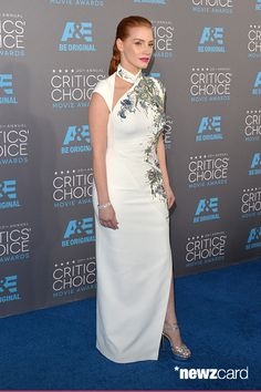 Honoree Jessica Chastain attends the 20th annual Critics' Choice Movie Awards at the Hollywood Palladium on January 15, 2015 in Los Angeles, California.  (Photo by Alberto E. Rodriguez/Getty Images for A&E Network)