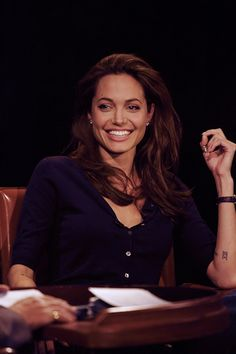 Angelina Jolie on Inside the Actor's Studio. 2005.