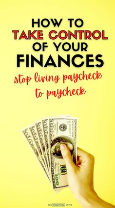 Tired of living paycheck to paycheck? | The Practical Saver | Learn how to STOP living broke. Here are 9 easy ways to get out of this cycle for good with better money management. Best save money tips that are extremely frugal and how to live on one income to pay off debt fast and start saving more. #frugallivingtips #personalfinance #moneyhacks #savemoney Ways To Save Money, Money Tips, Money Saving Tips, Financial Tips, Financial Planning, Early Retirement, Budgeting Finances, Money Management, Personal Finance
