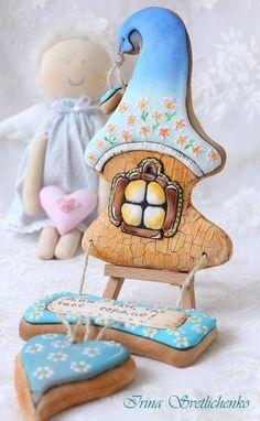 Cookies Пряник Домик счастья