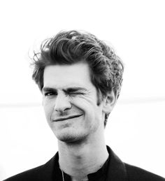 andrew garfield, you and your nerdy little face just...