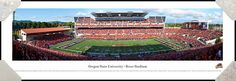 Oregon State University Beavers Reser Stadium Football #ORSU Framed Panoramic Picture #NCAA #College #HomeDecor #OfficeDecor #DormDecor #InteriorDesign #Art #Gifts #Professionally #Framed #Poster #Picture #ReadytoHang