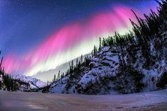 Aurora in Alaska, USA.