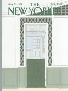 The New Yorker - Monday, August 24, 1981 - Issue # 2949 - Vol. 57 - N° 27 - Cover by : Gretchen Dow Simpson