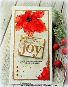 Kath's Blog......diary of the everyday life of a crafter: It's still Christmas In The Cubbyhole Christmas Flowers, Christmas Cats, Snowflake Images, Poinsettia Cards, Stampers Anonymous, Ranger Ink, Distress Oxide Ink, Distressed Painting, Winter Cards