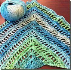 Encontre este Pin e muitos outros na pasta croche shawls de Danielle Gazeau. 2cbb646ab72