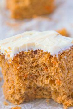 Healthy Flourless Carrot Breakfast Cake
