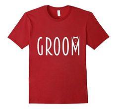 Men's Groom Wedding Bachelor Party Men's T-shirt  #weddingshirt