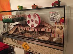 Hamstercage -  Cage for Dwarfhamster Size 120x50x65