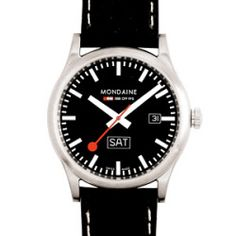 Mondaine Official Swiss Railways Watch Sports Line Gents Day Date A667.30308.19SBB