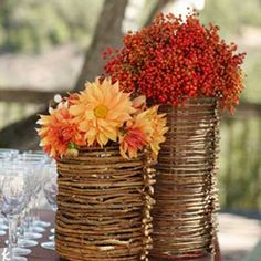 Fall Themed Wedding Reception Decorations ~ Wedding centerpieces for fall tulle chantilly. Wedding ideas fall budget decorations rustic g. Fruits Decoration, Reception Decorations, Table Decorations, Centerpiece Ideas, Reception Ideas, Wedding Centerpieces, Vase Ideas, Flower Centerpieces, Table Centerpieces