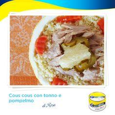 Amici del Nostromo, con l'estate arriva la voglia di leggerezza, anche a tavola. La nostra chef Rosa del blog Kreattiva ci prepara in cambusa un cous cous light e gustosissimo!  http://kreattiva.blogspot.it/2014/06/cous-cous-con-tonno-e-pompelmo.html  #ricetta #recipe  #tonno #tuna
