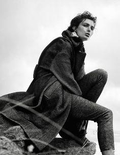 awesome Vogue Paris Outubro 2014 | Andreea Diaconu por Gregory Harris [Editorial]