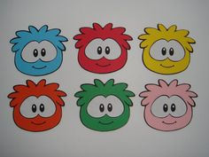 Items similar to set of 6 scrapbooking craft embellishments decorations cut out penguin DIY puffle on Etsy Boy Birthday Parties, Birthday Party Decorations, Club Peguin, Penguin Party, Penguins, Embellishments, Birthdays, Crafty, Die Cut