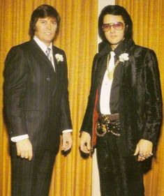 Sonny West, Memphis Mafia member for Elvis Presley. Died May List includes meeting the Beatles, Lisa Marie's daughters, troubled son Bryan Lee. King Elvis Presley, Elvis Presley Images, Elvis And Priscilla, Mohair Suit, Memphis Mafia, Bryan Lee, John Lennon Beatles, Buddy Holly, Step Brothers