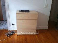 Ikea Malm Chest Of 4 Drawers Embled In Baltimore Md By Furniture Embly Experts Llc