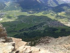 Newer portion of the town of Crested Butte where we were staying @ the Grand Lodge (9.8 out of 10).