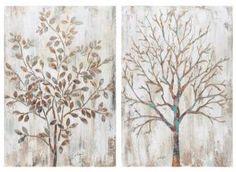 Cuadros decoración - Set árbol hojas Shop, Furniture, Home Decor, Things To Make, Leaves, Homemade Home Decor, Home Furnishings, Decoration Home, Store