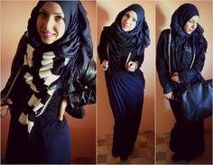 casual cuteness ❤ hijab style