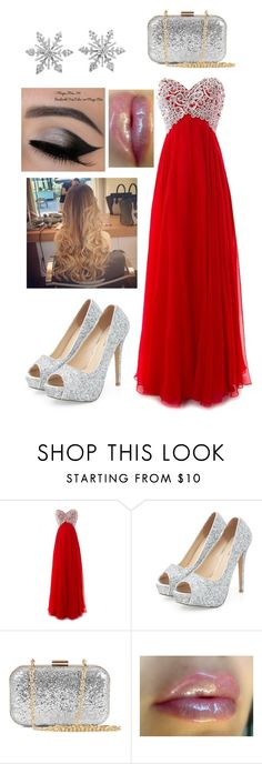 """""""Formal Christmas Celebration"""" by kayla-kat31 ❤ liked on Polyvore featuring NLY Accessories and Van Cleef & Arpels"""