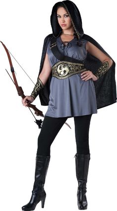 Huntress Dress - Womens Plus Size Costume from BuyCostumes.com