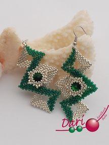 Love this design for earrings