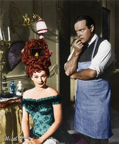 Lucille Ball and Bob Hope in Fancy Pants