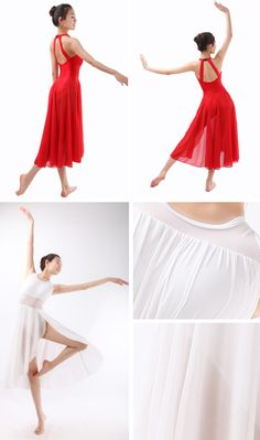 Lyrical Dance Costume Dress, Ballet Dresses for Adults