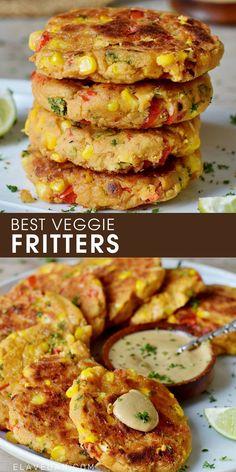 Delicious Vegan Recipes, Vegetarian Recipes, Veggie Bites, Healthy Sandwiches, Sandwich Recipes, Veggie Fritters, Whole Food Recipes, Cooking Recipes, Veggie Delight