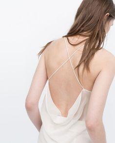 Image 5 de TOP À BRETELLES de Zara