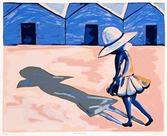 Charles Blackman · Limited Edition Prints - The Design Files Australian Painters, Australian Artists, Art And Illustration, Alice In Wonderland Series, Picasso And Braque, Jungle Art, The Design Files, Indigenous Art, Silk Screen Printing