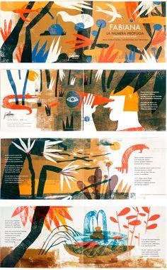 Mar Hernández illustrates Fabiana - Anna Goodson Illustration Agency
