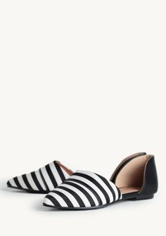 frances pointed toe flats