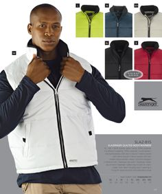 Padded Body Warmers and Quilted Bodywarmers South Africa #mensclothing #clothing #jacket #paddedjacket #vest #vestjacket #bodywarmers
