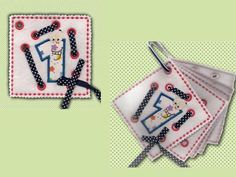 In The Hoop Lace Up Applique Activity Pages Machine Embroidery Designs  http://www.designsbysick.com/details/laceuppages