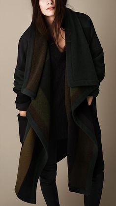 Cappotto coperta con motivi geometrici | Burberry