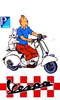 Vespa Tintin