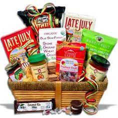 Organic Gift Basket - Classic  $79.99 #pintowingifts