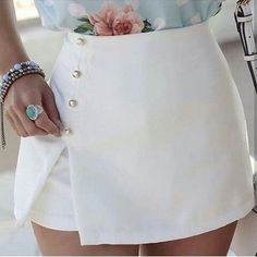 Super Spring Outfits To Summer Fashion That Always Looks Fantastic Shorts Altos, Short Skirts, Short Dresses, Fashion Mode, Womens Fashion, 50 Fashion, Summer Outfits, Casual Outfits, Look Chic