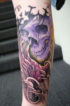 skull tattoo | Tumblr