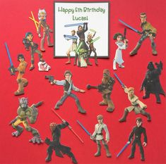 Star Wars cupcake toppers 14 Star Wars Rebels by Fairfable on Etsy