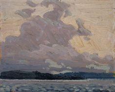 Tom Thomson Catalogue Raisonné | Stormy Sky, Summer 1915 (1915.68) | Catalogue entry